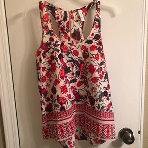 XS Xhiliration top. Washed but never worn.